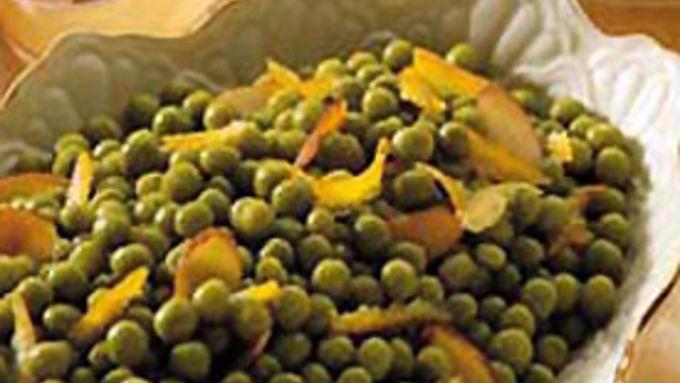 Orange Peas Amandine
