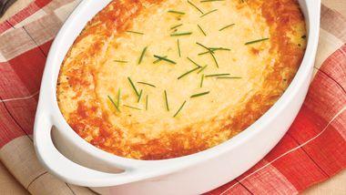 Parmesan Corn Pudding