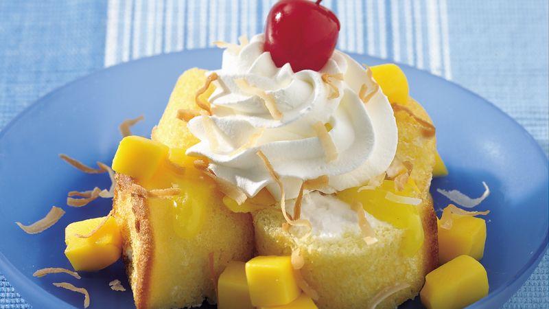 Caribbean Sponge Cake Desserts