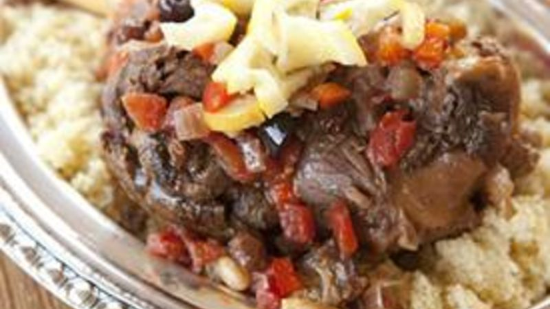 Slow-Cooker Moroccan Lamb recipe - from Tablespoon!