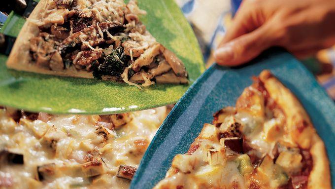 Wild Mushroom Pizza recipe - from Tablespoon!