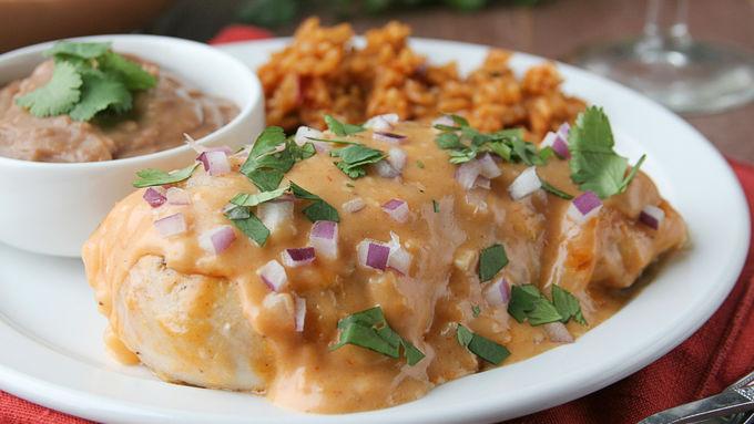 Cheesy Enchilada Chicken