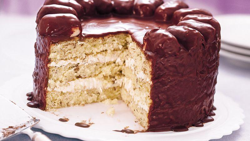 Chocolate-Coconut Candy Bar Cake