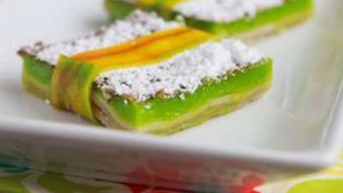 Jazzy Lime Bars