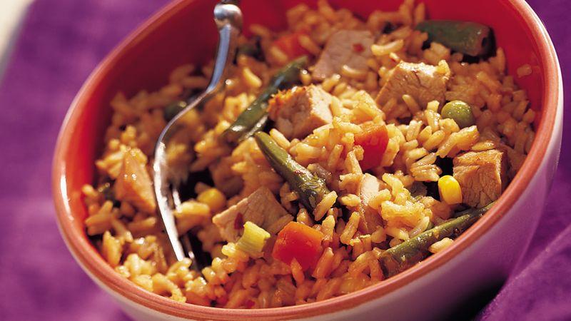 Easy Pork Fried Rice