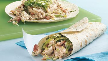 Chicken-Bacon-Ranch Wraps