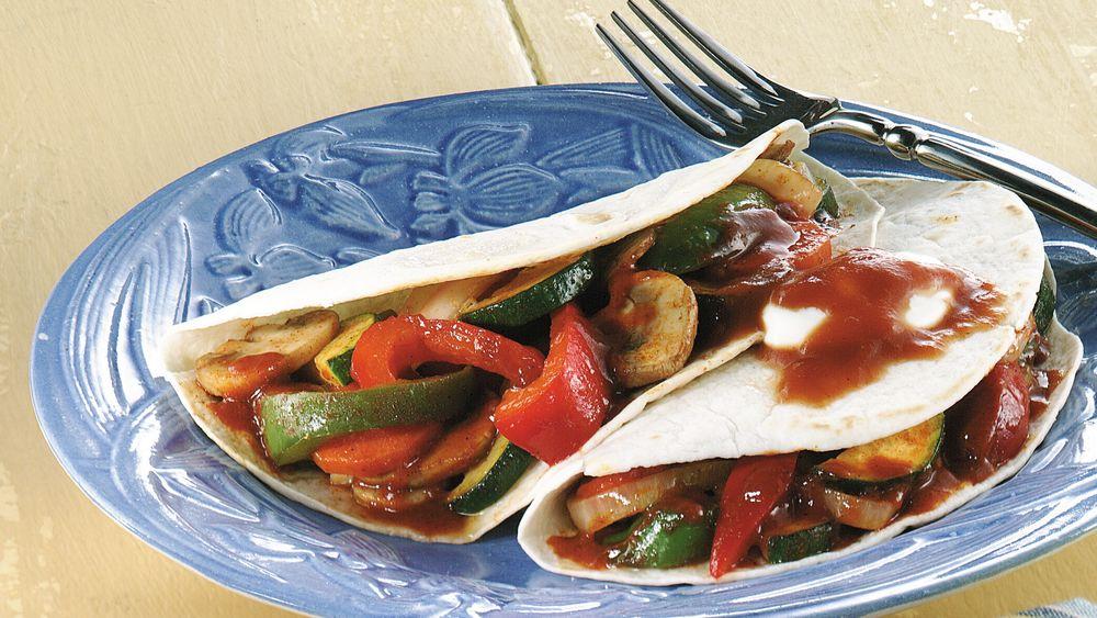 Mexican Veggie Folds