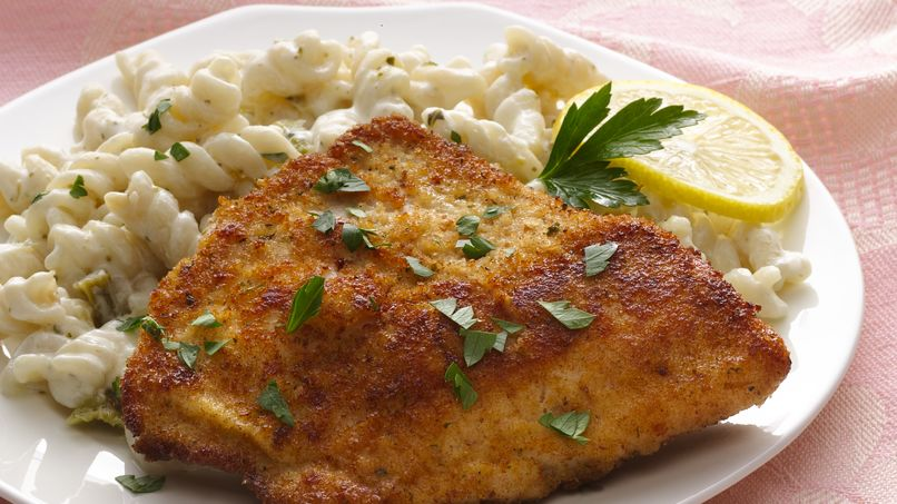 Pan-Seared Tilapia with Creamy Wine Sauce