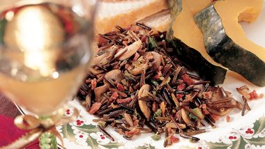 Bacony Wild Rice