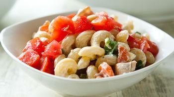 Chicken-Bacon-Ranch Pasta Salad