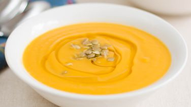 Cream of Pumpkin Soup with Orange