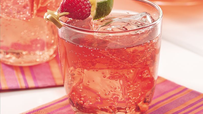 Sparkling Raspberry Tea