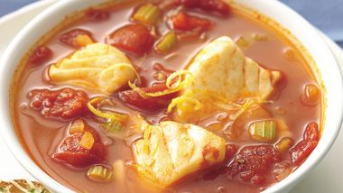 Fish and Tomato Soup