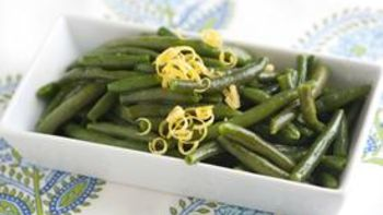 Lemony Green Beans
