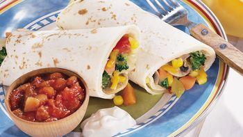 Vegetable Garden Burritos