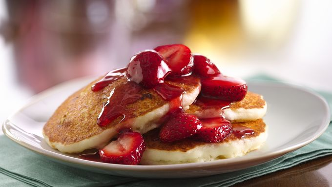 Gluten-Free Cheesecake Pancakes recipe - from Tablespoon!