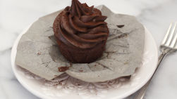 Cupcakes de Chocolate Mexicano