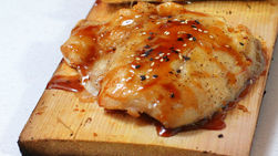 Grilled Snapper in Guava Sauce