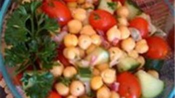 Easy Garbanzo Bean Salad