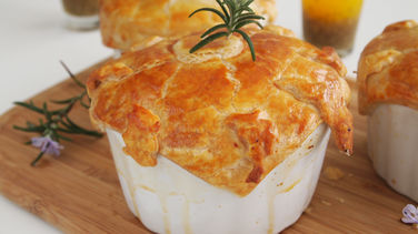 Pot Pie de Salmón