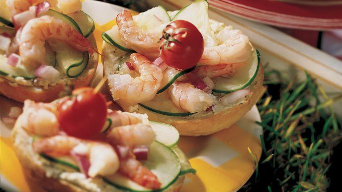 Summertime Shrimp Rounds