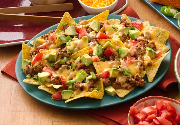 Easy beef nachos for What to make with hamburger meat for dinner