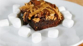 Fluffernutter Brownies