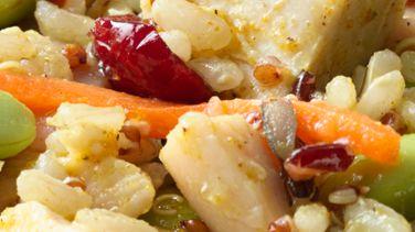 Chicken Curry Grain Salad