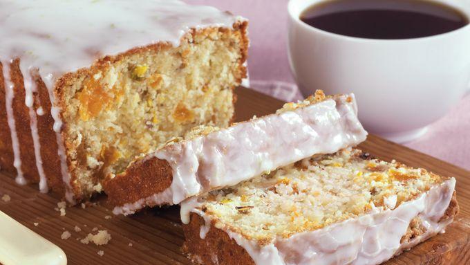 Apricot Pistachio Tea Bread