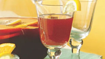 Pomegranate-Mint Sangria