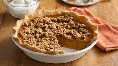 Sweet Potato Pie with Cornmeal Pastry