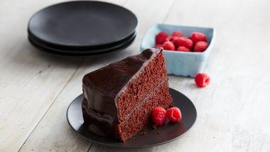 Easy Chocolate Ganache Zucchini Cake