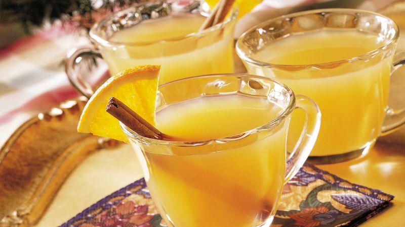 Peachy Spiced Cider