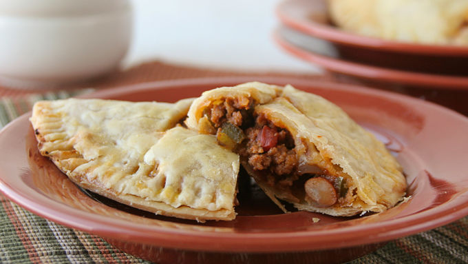 Chili Pie Pockets