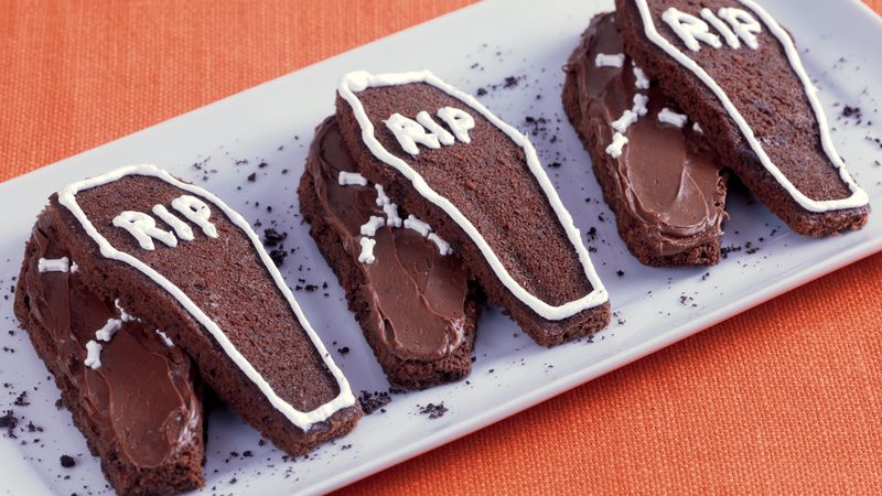 Coffin Cakes Recipe From Betty Crocker