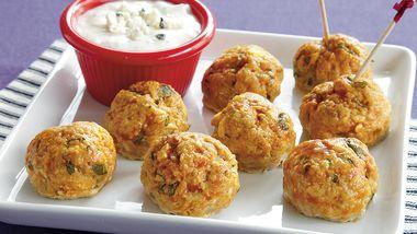 Fiery Chicken Meatballs