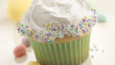Candy-Sprinkled Cupcakes