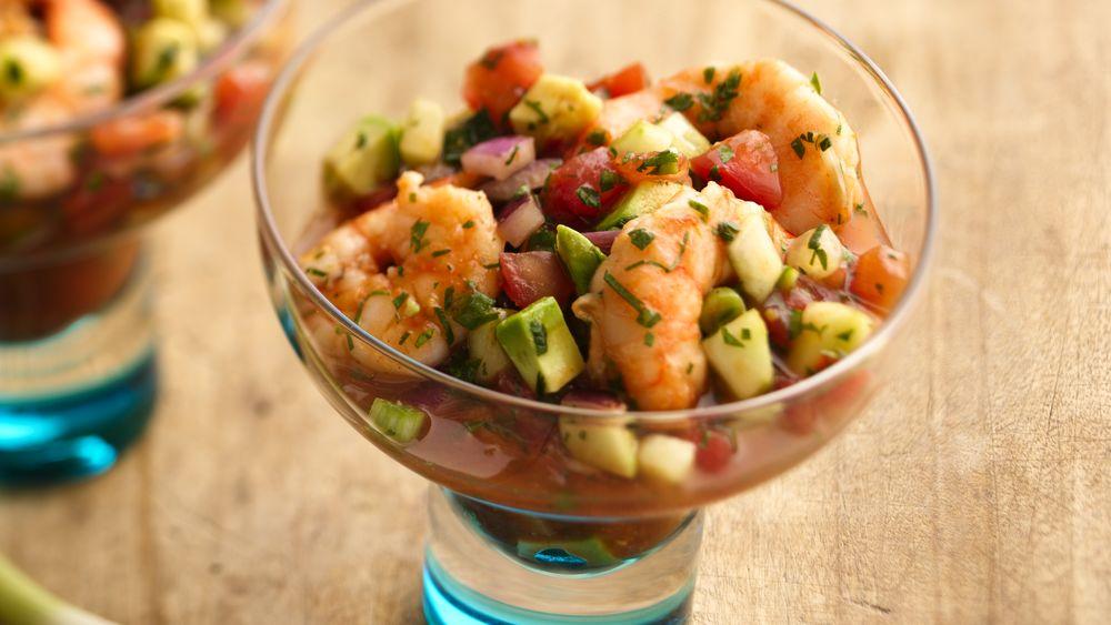 Ceviche-Style Shrimp Cocktail