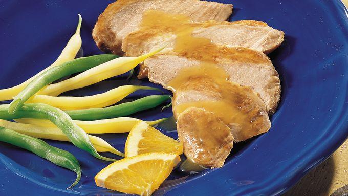 Slow-Cooker Wild Duck Breast à  l'Orange