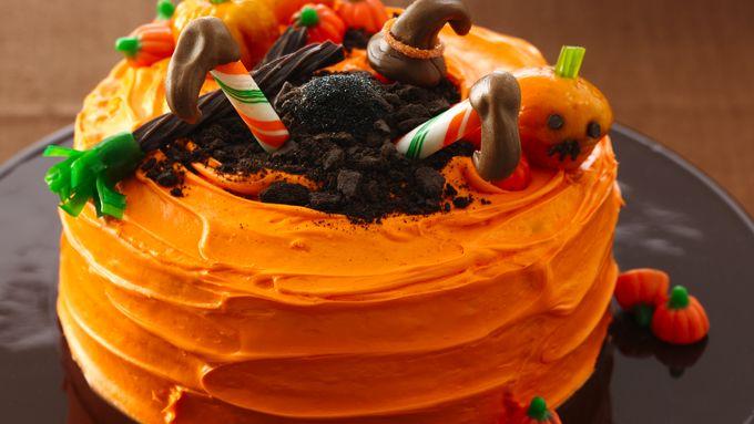 Crash-Landing Witch Cake