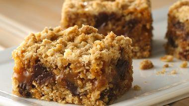 Gluten-Free Oatmeal Caramel Bars
