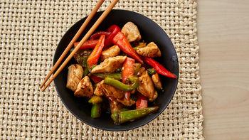 Vegetable-Chicken Stir-Fry