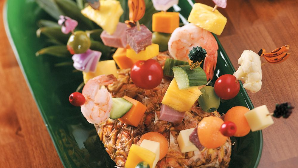 Cocktail Snack Kabobs
