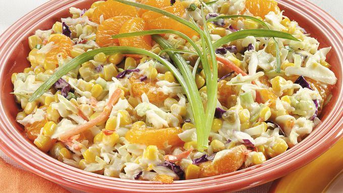 Mandarin Orange Corn Slaw