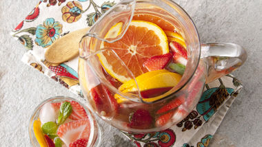 Strawberry Tequila Sangria