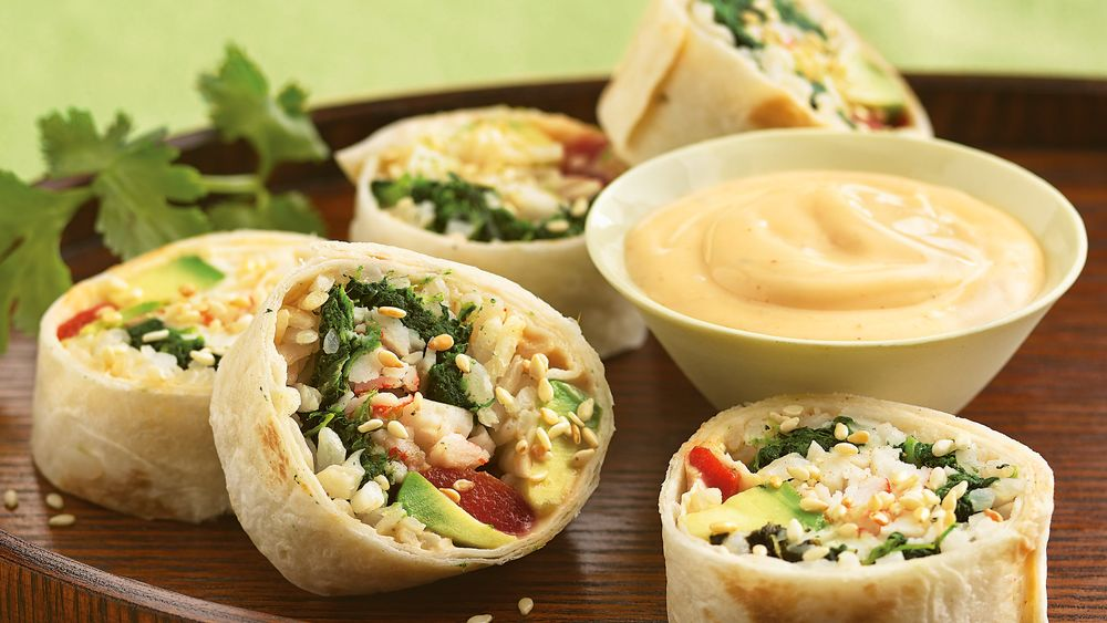 South-of-the-Border Sushi Appetizers recipe from Pillsbury.com