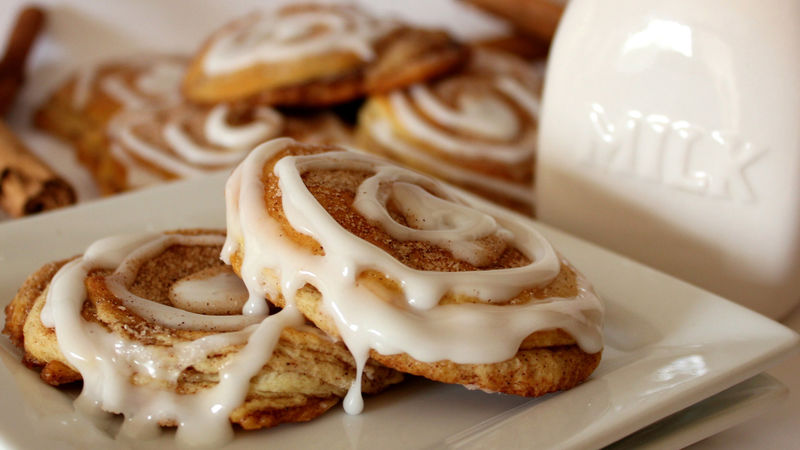 Crescent Cinnamon Roll Cookies