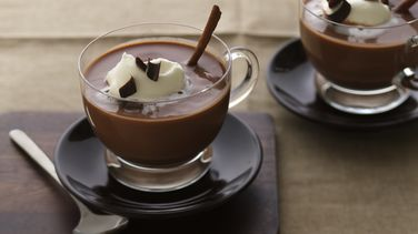 Chocolate Caliente con Canela