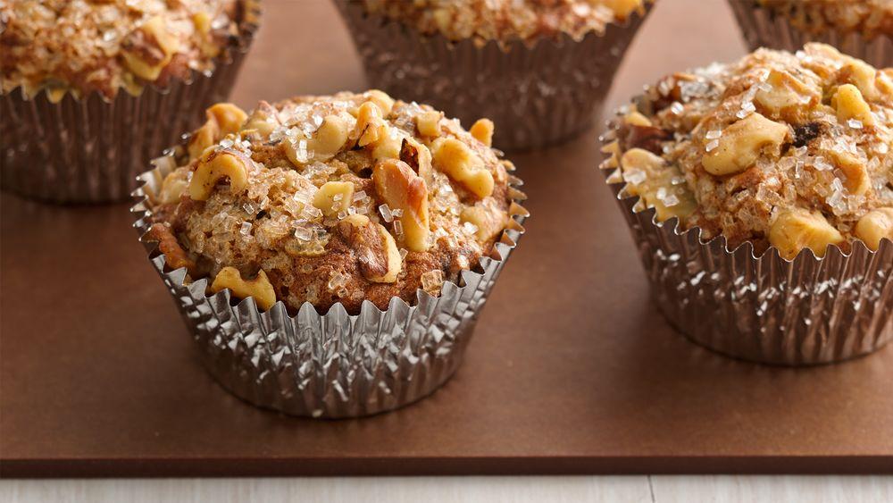 Chocolate Chip-Banana Nut Muffins