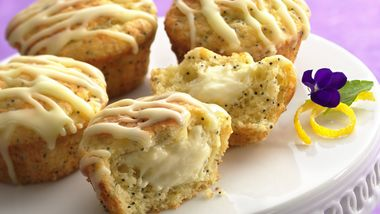 Cheesecake-Poppy Seed Muffins